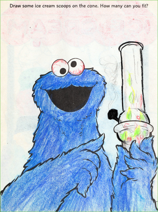 Cookie Monster - Dakota
