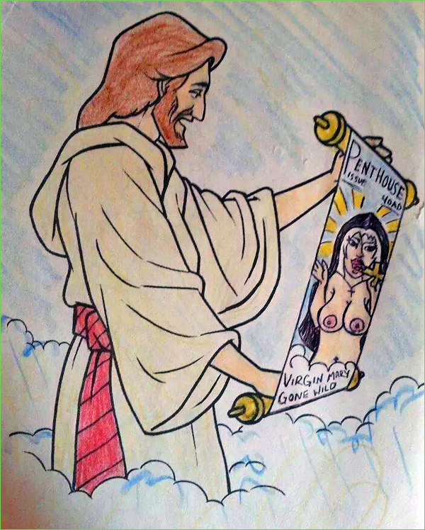 guest post heavenly centerfold - Nude Coloring Book