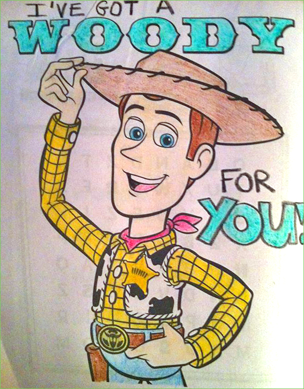 Woody - ishowernaked2