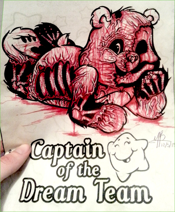 Guest Post Zombie Bear Coloring Book Corruptions