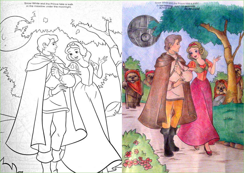 guest post takeover - Disney Coloring Book