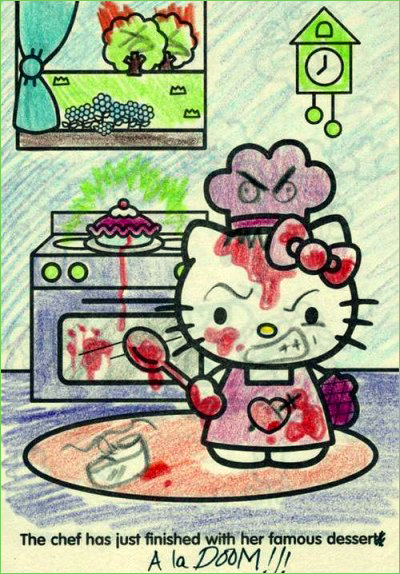 Baking - Hello Kitty Hell