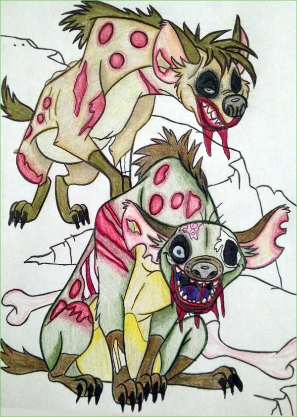 Hyenas - MmmBrainss