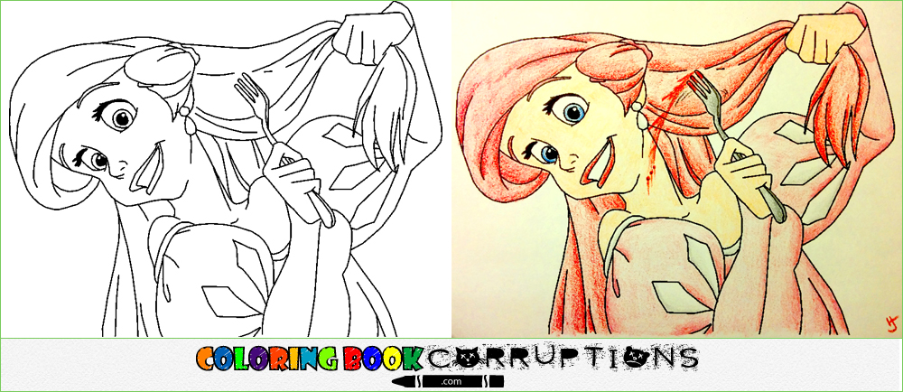 little | Coloring Book Corruptions