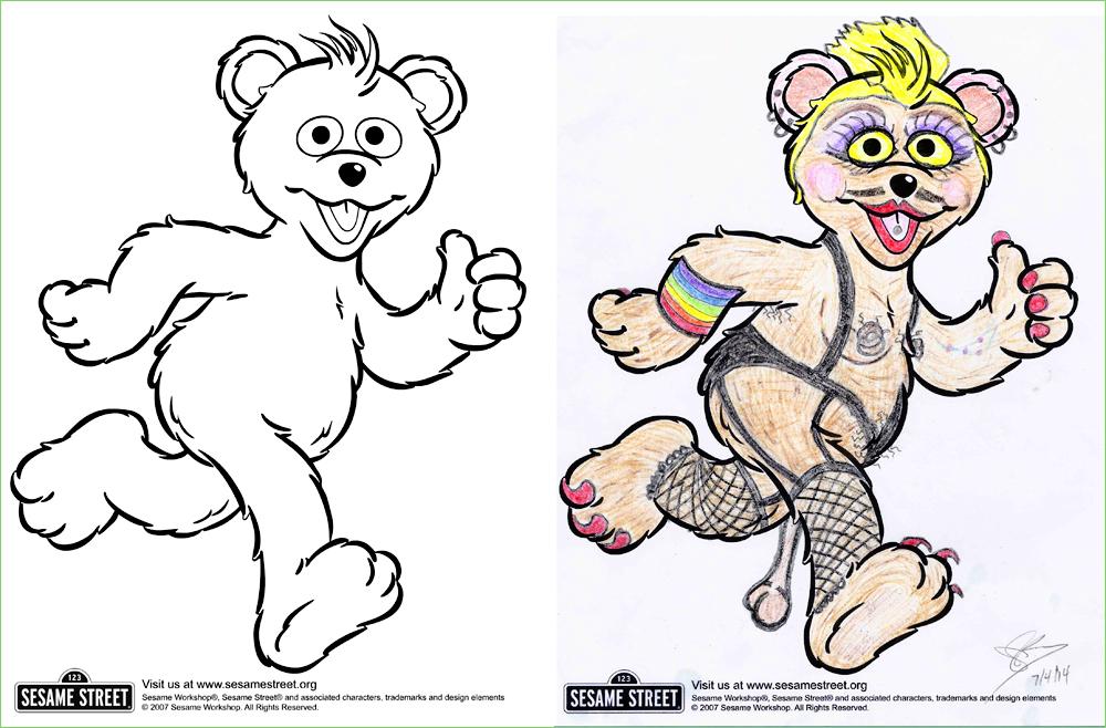 Tranny Bear - w0wm0m