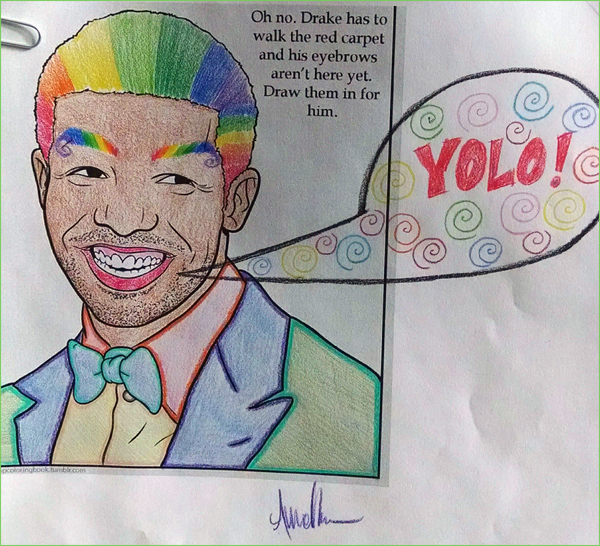 guest post yolo - Drake Coloring Book