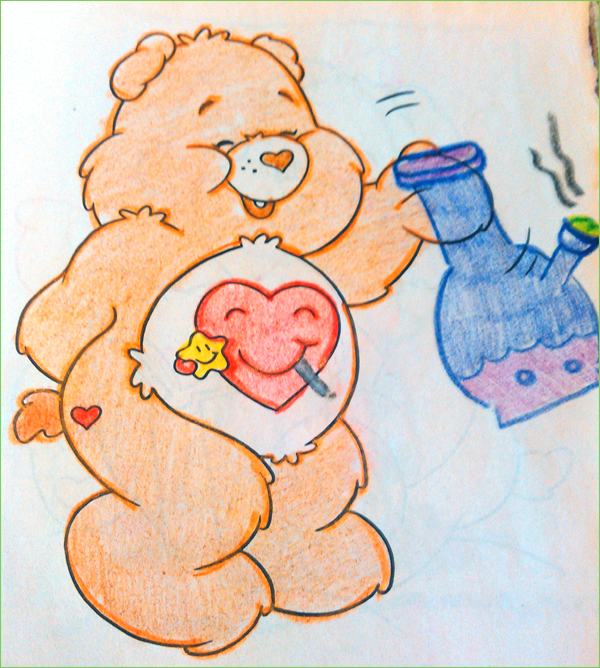Care Bear - Michelle Davis