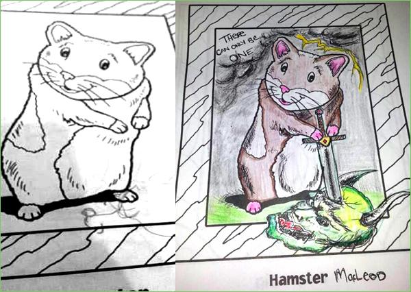 Hamster - Trish Alber
