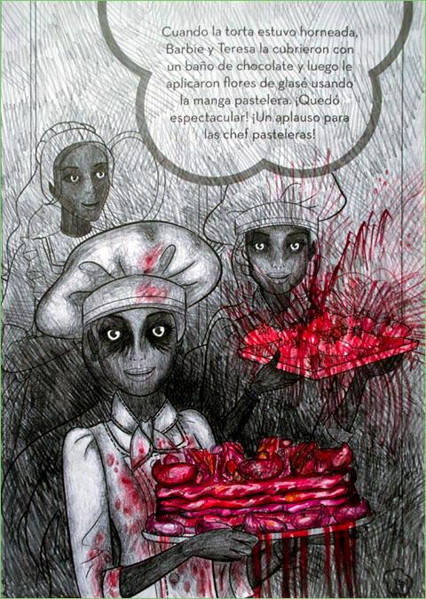 Kitchen Staff - Maya Corredor