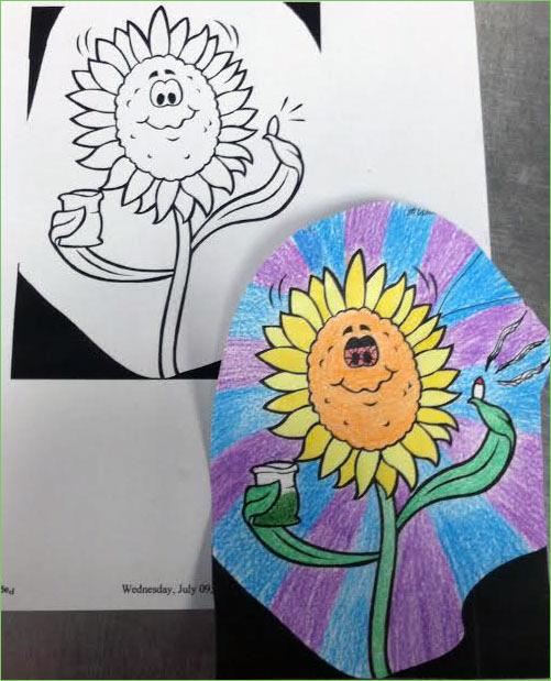 Sunflower - orangenotred