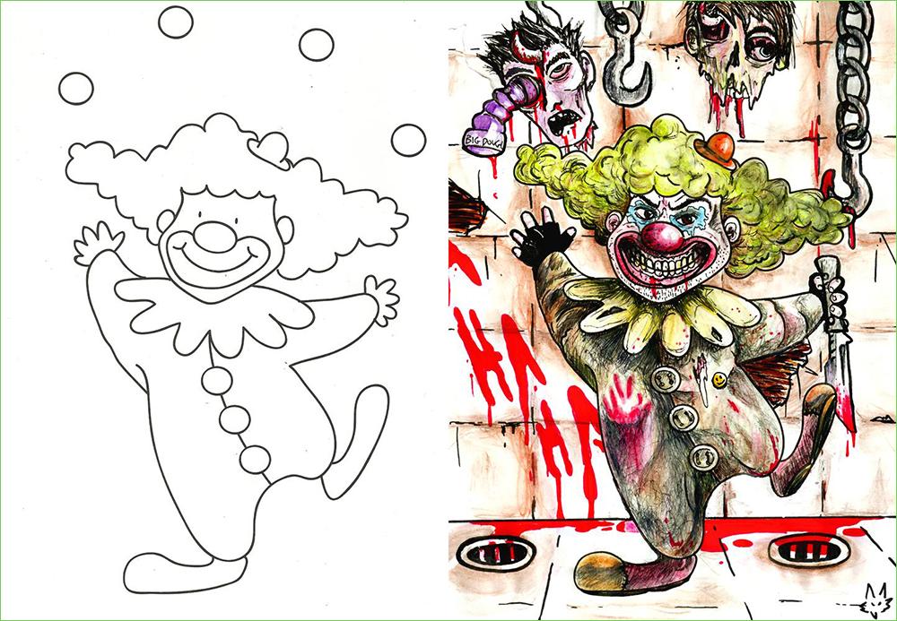 Clown - BourbonFox