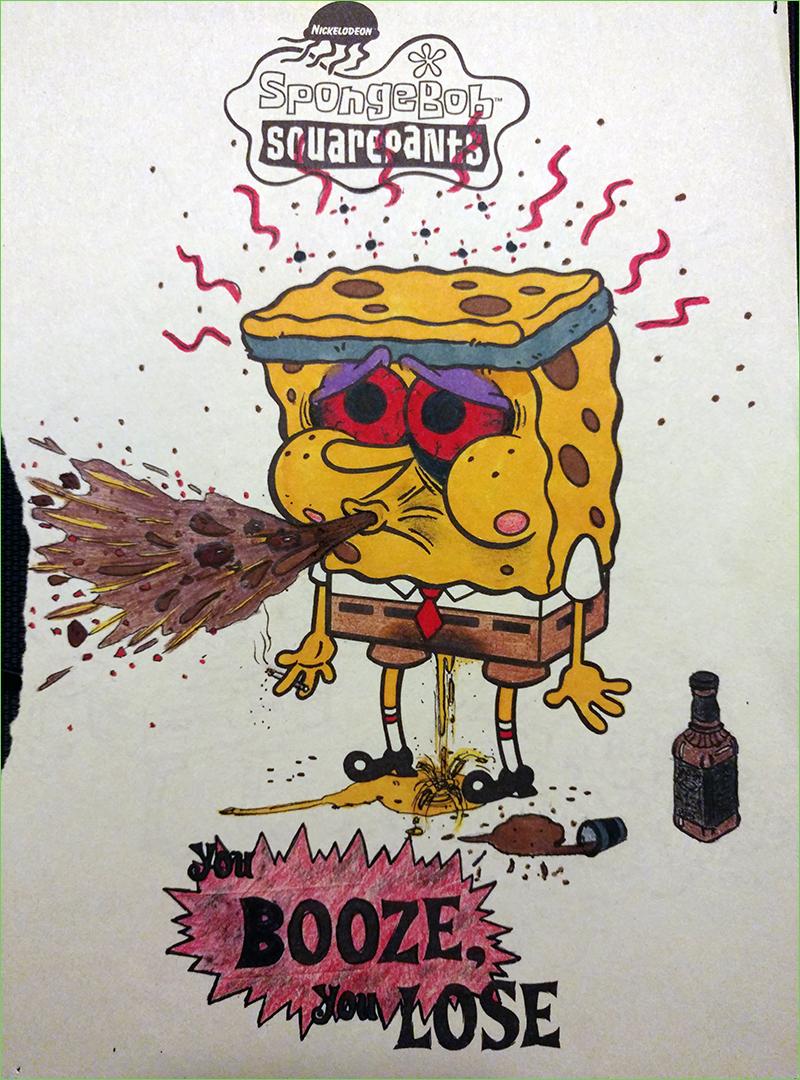 spongebob coloring book corruptions