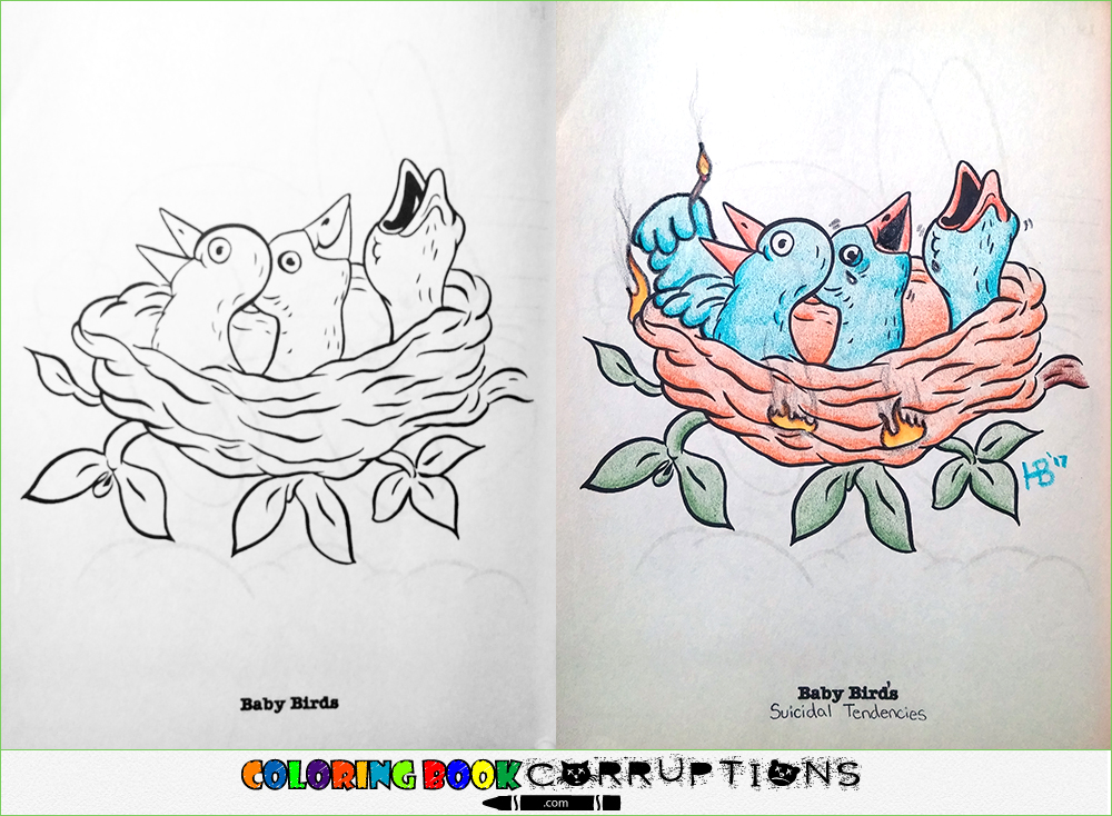 Corrupting Childrens Coloring Books