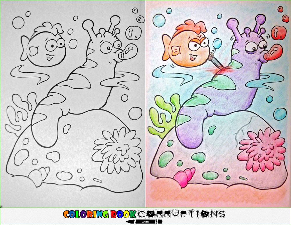 Reddit Just Ruined Your Childhood Coloring Book