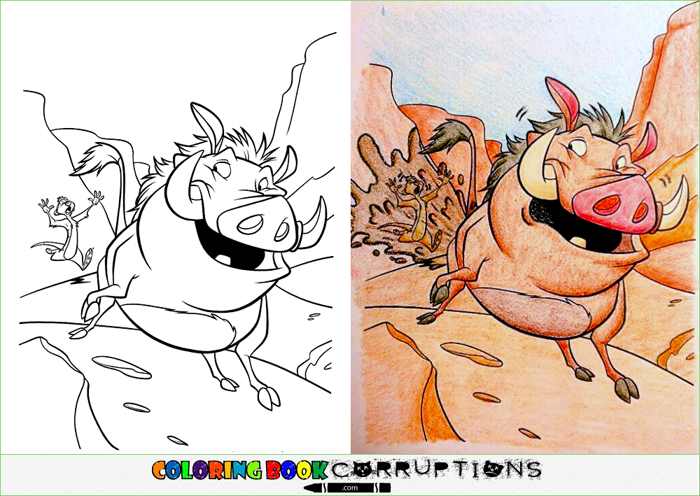 Funny Or Coloring Book Corruptions Coloring Pages