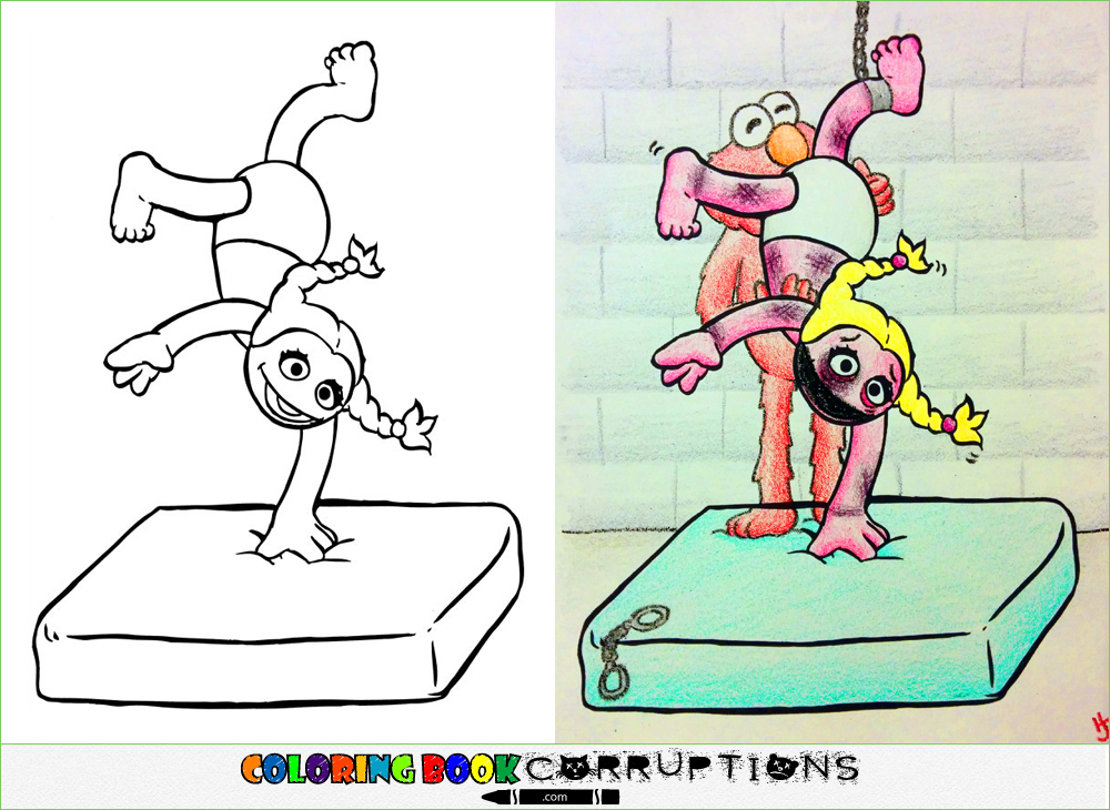 street   Coloring Book Corruptions